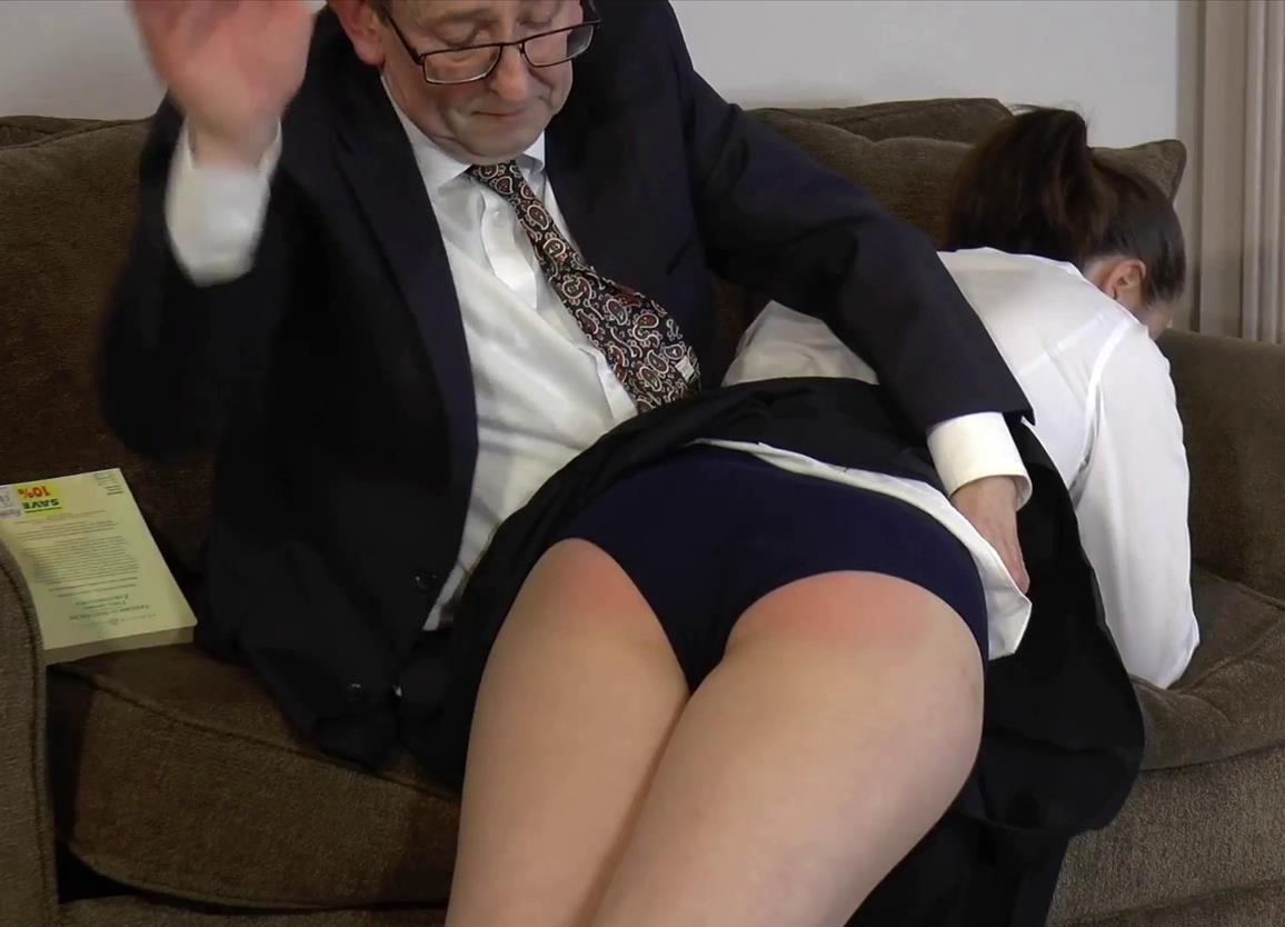 Rare traditional spanking girl - Caseys Detention